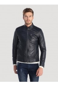 Jacheta din piele Giorgio Di Mare GI3264407 Bleumarin