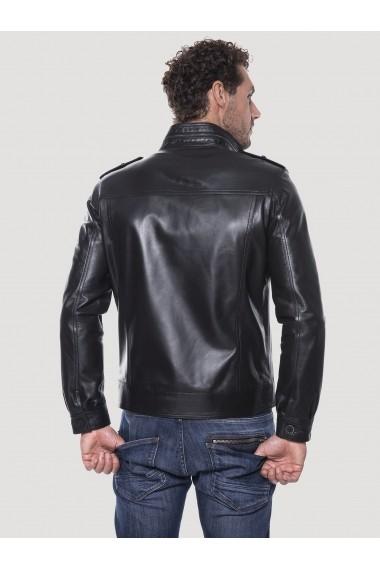 Jacheta din piele Giorgio Di Mare GI9761024 Negru