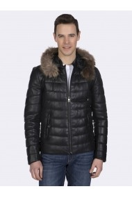 Jacheta din piele Giorgio Di Mare GI1848691 Negru