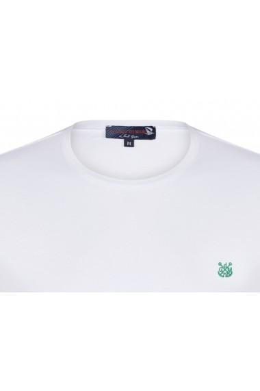 Tricou Giorgio di Mare GI5567338 Alb