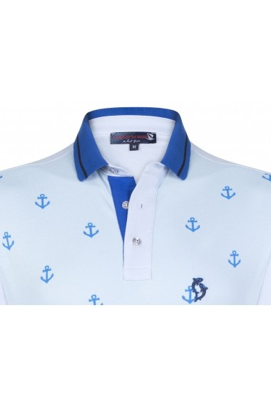 Tricou Polo GIORGIO DI MARE GI8706885 Albastru