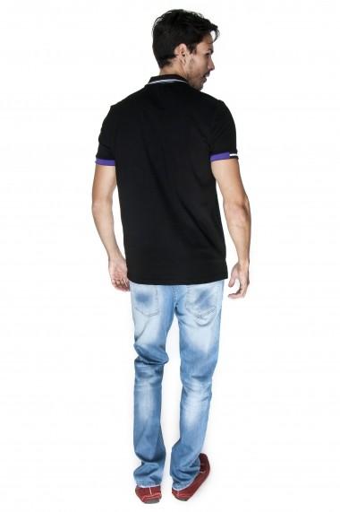 Tricou Polo GIORGIO DI MARE GI5681804 Negru - els