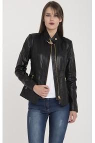 Jacheta din piele Giorgio di Mare GI3736315 Negru