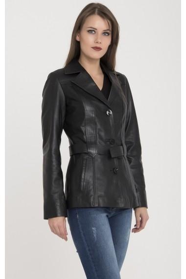 Jacheta din piele Giorgio di Mare GI6274152 Negru