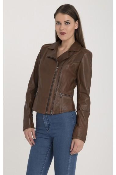 Jacheta din piele Giorgio di Mare GI1185325 Maro