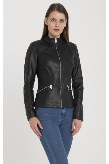 Jacheta din piele Giorgio Di Mare GI5140136 Negru