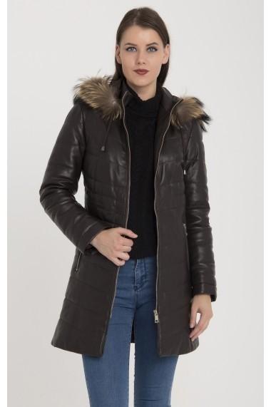 Jacheta din piele Giorgio Di Mare GI9723358 Maro