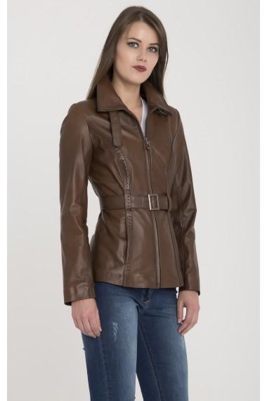 Jacheta din piele Giorgio Di Mare GI8616804 Maro