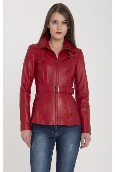 Jacheta din piele Giorgio Di Mare GI9013072 Rosu