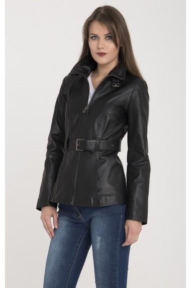 Jacheta din piele Giorgio Di Mare GI5909312 Negru