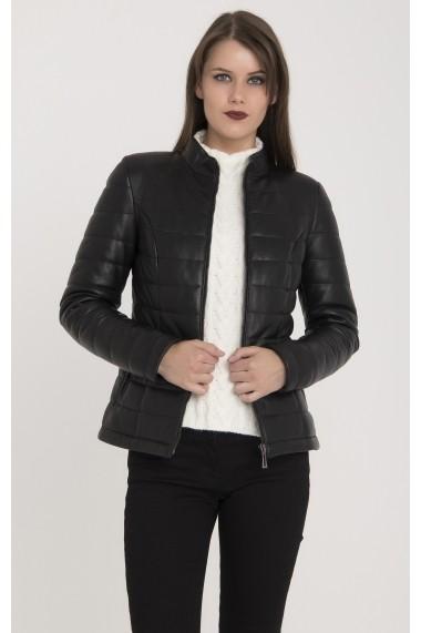 Jacheta din piele Giorgio Di Mare GI3694718 Negru