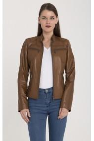 Jacheta din piele Giorgio Di Mare GI4088712 Maro