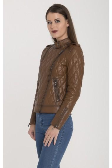 Jacheta din piele Giorgio Di Mare GI5560720 Maro