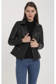 Jacheta din piele Giorgio Di Mare GI1801811 Negru