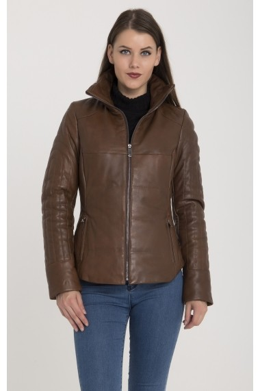 Jacheta din piele Giorgio Di Mare GI5502221 Maro