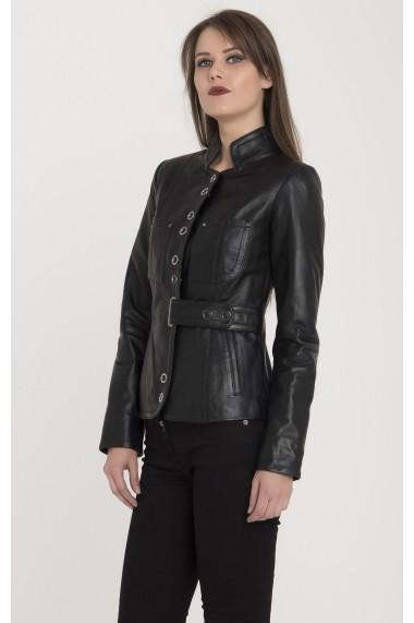 Jacheta din piele Giorgio Di Mare GI7928280 Negru