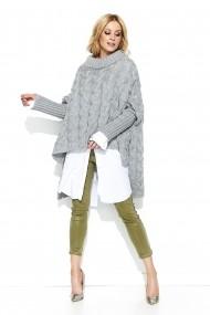 Пуловер BeWear GLB-s71_grey сиво