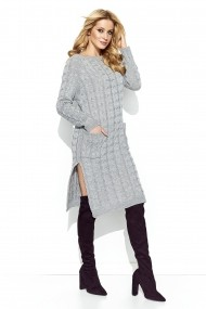 Пуловер BeWear GLB-s75_grey сиво