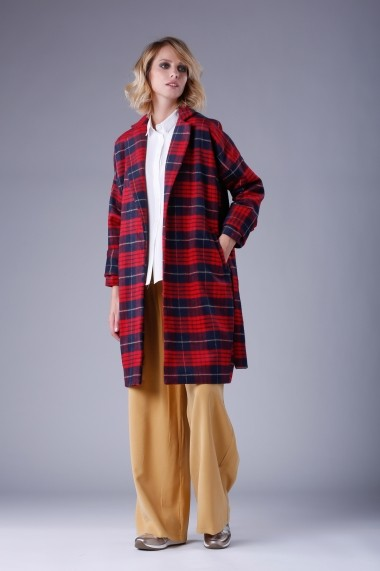 Palton PEPERUNA PE227 Rosu