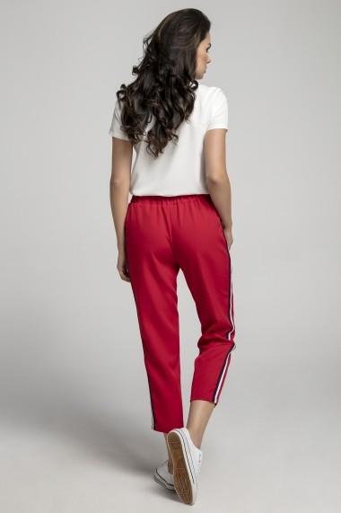 Pantaloni NAOKO AT219 Rosu - els