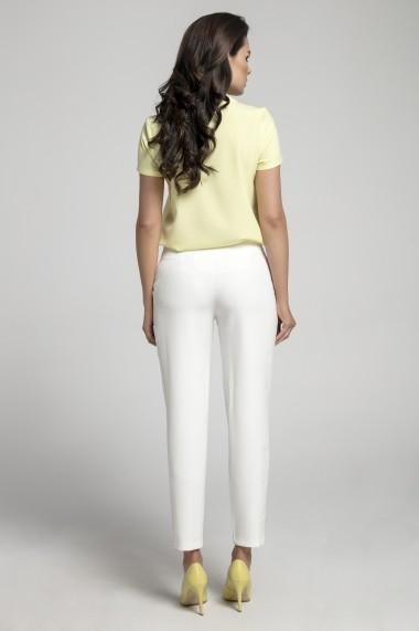 Pantaloni NAOKO AT221 Ecru - els