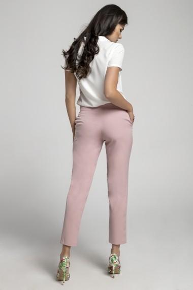 Pantaloni NAOKO AT221 Roz - els