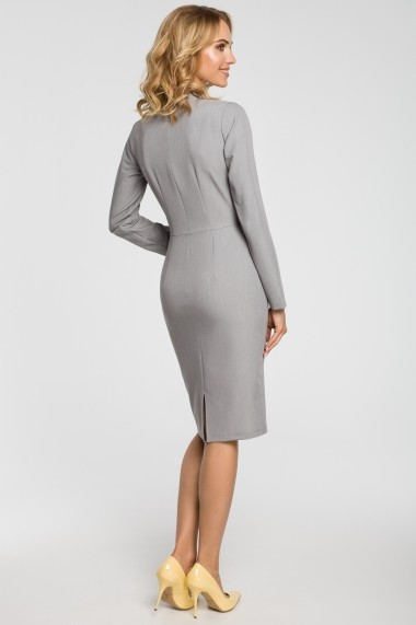 Rochie Made of Emotion M325 Gri - els