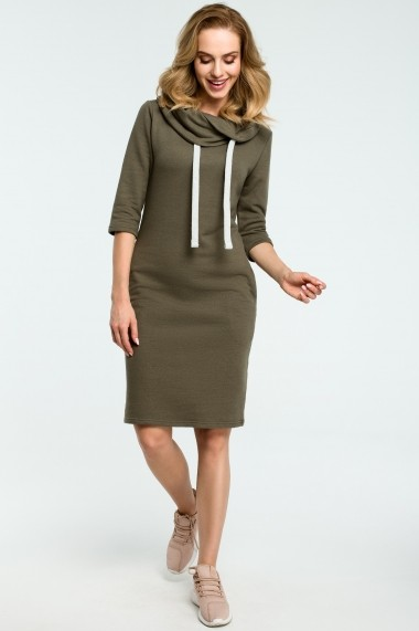 Rochie Made of Emotion M391 Kaki - els