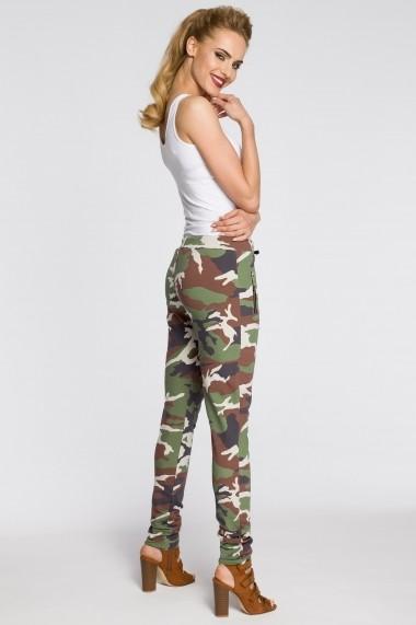 Pantaloni skinny Made of Emotion M239 Multicolor - els