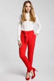 Pantaloni largi Made of Emotion M363 Rosu - els