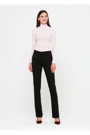 Pantaloni drepti ZOCHA Z050 Negru - els