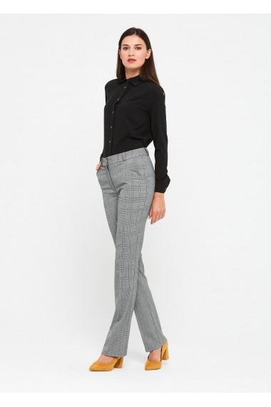 Pantaloni drepti ZOCHA Z068 Gri - els
