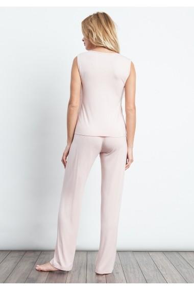 Set pijama Luisa Moretti GLB-LMS-3047-PINK Roz