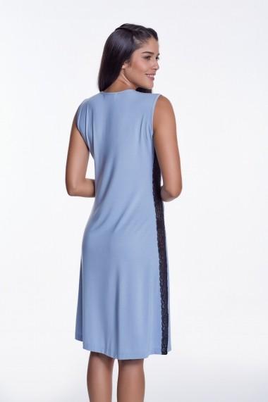 Camasa de noapte Luisa Moretti GLB-LMS-4025-SKY Albastru