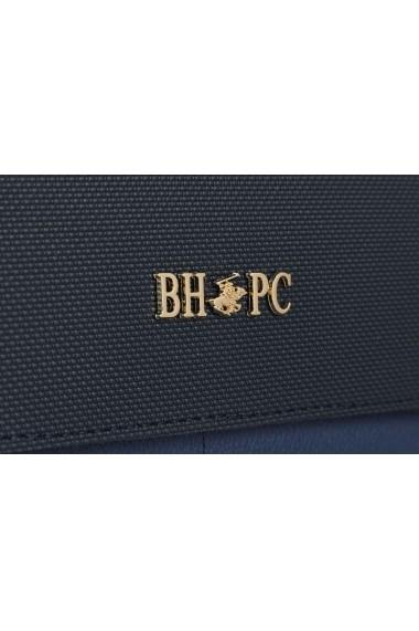 Portofel Beverly Hills Polo Club 668BHP0505 bleumarin