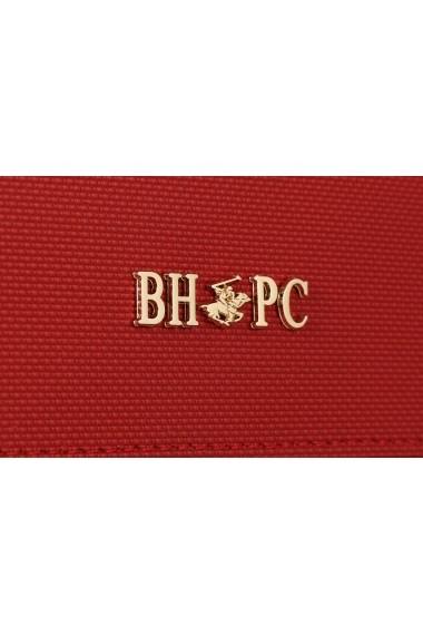 Portofel Beverly Hills Polo Club 668BHP0508 rosu