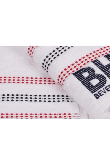 Set 2 prosoape de maini Beverly Hills Polo Club 355BHP1261 Alb