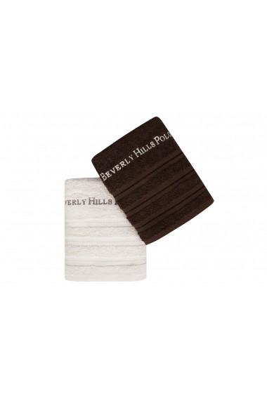 Set 2 prosoape de maini Beverly Hills Polo Club 355BHP2220 Maro
