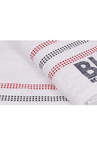 Set 2 prosoape de baie Beverly Hills Polo Club 355BHP1448 Alb