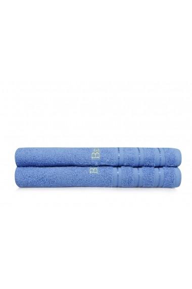 Set 2 prosoape de baie Beverly Hills Polo Club 355BHP1484 Albastru