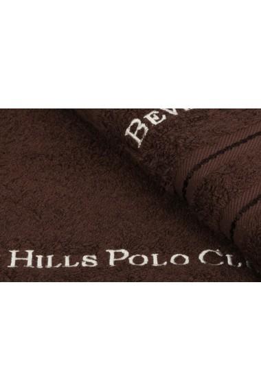 Set 2 prosoape de baie Beverly Hills Polo Club 355BHP1485 Maro