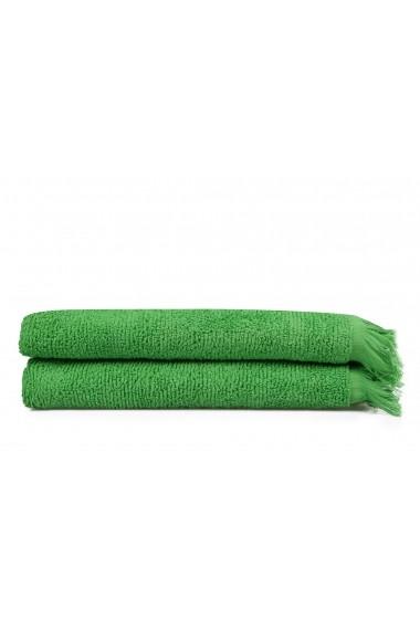 Set 2 prosoape de baie Beverly Hills Polo Club 355BHP1482 Verde