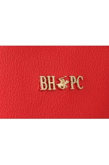 Geanta Beverly Hills Polo Club 668BHP0110 rosu