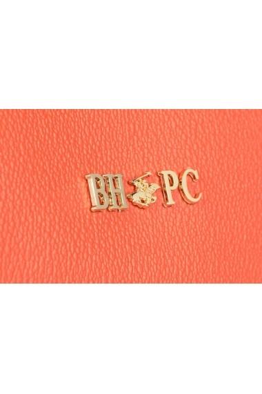 Geanta Beverly Hills Polo Club 668BHP0122 portocaliu