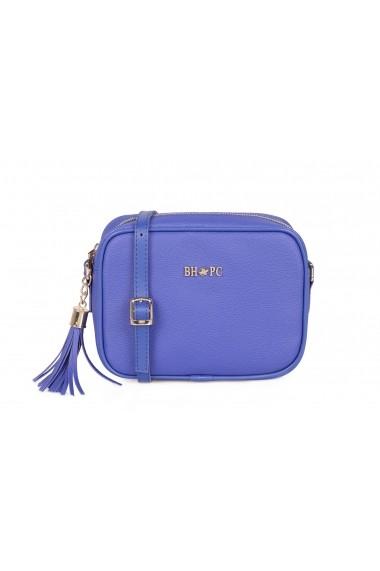 Geanta Beverly Hills Polo Club 668BHP0124 albastru