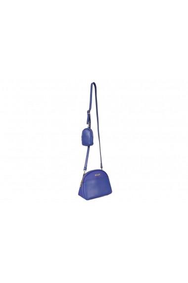 Geanta Beverly Hills Polo Club 668BHP0132 albastru