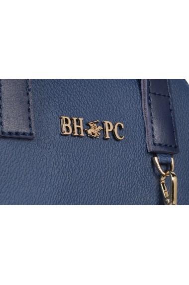 Geanta Beverly Hills Polo Club 668BHP0143 bleumarin