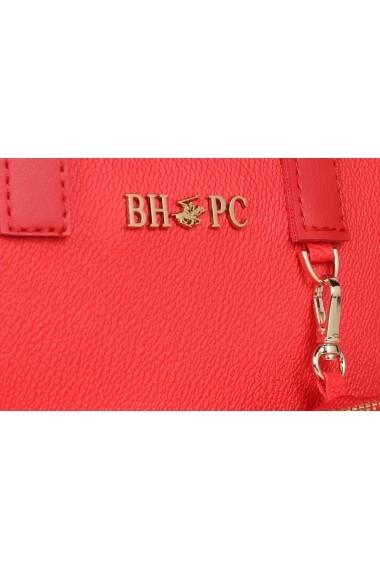 Geanta Beverly Hills Polo Club 668BHP0145 rosu