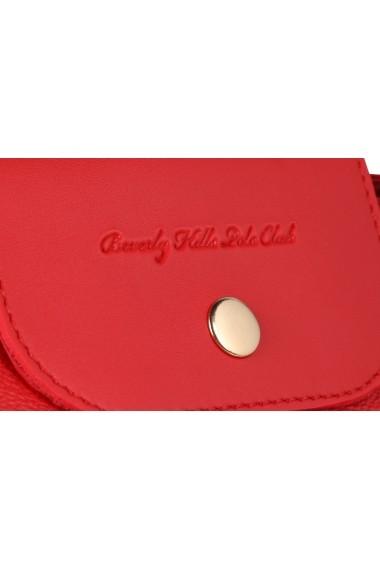 Geanta Beverly Hills Polo Club 668BHP0134 rosu