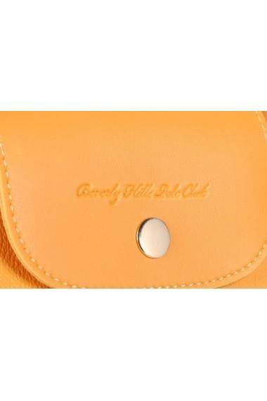 Geanta Beverly Hills Polo Club 668BHP0139 galben